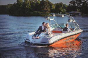 Wedding at Hyco Lake
