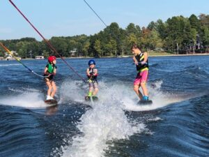 Koehler Kids on Their Boards