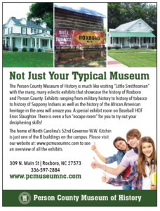 Person County Museum