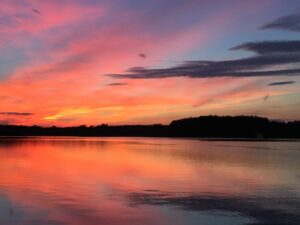 Marilyn Wycoff - Hyco Lake Sunset