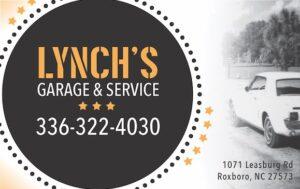 Ad-2019-4-Lynchs Garage Service