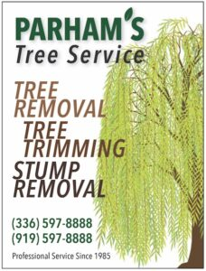 Ad-2019-4-Parhams Tree Service