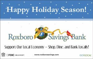 Ad-2019-4-Roxboro Saving Bank