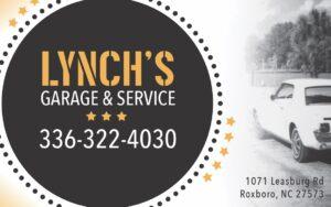 Lynchs Garage vol 4 2020 ad proof