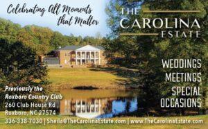 The Carolina Estate vol 4 2020 ad proof