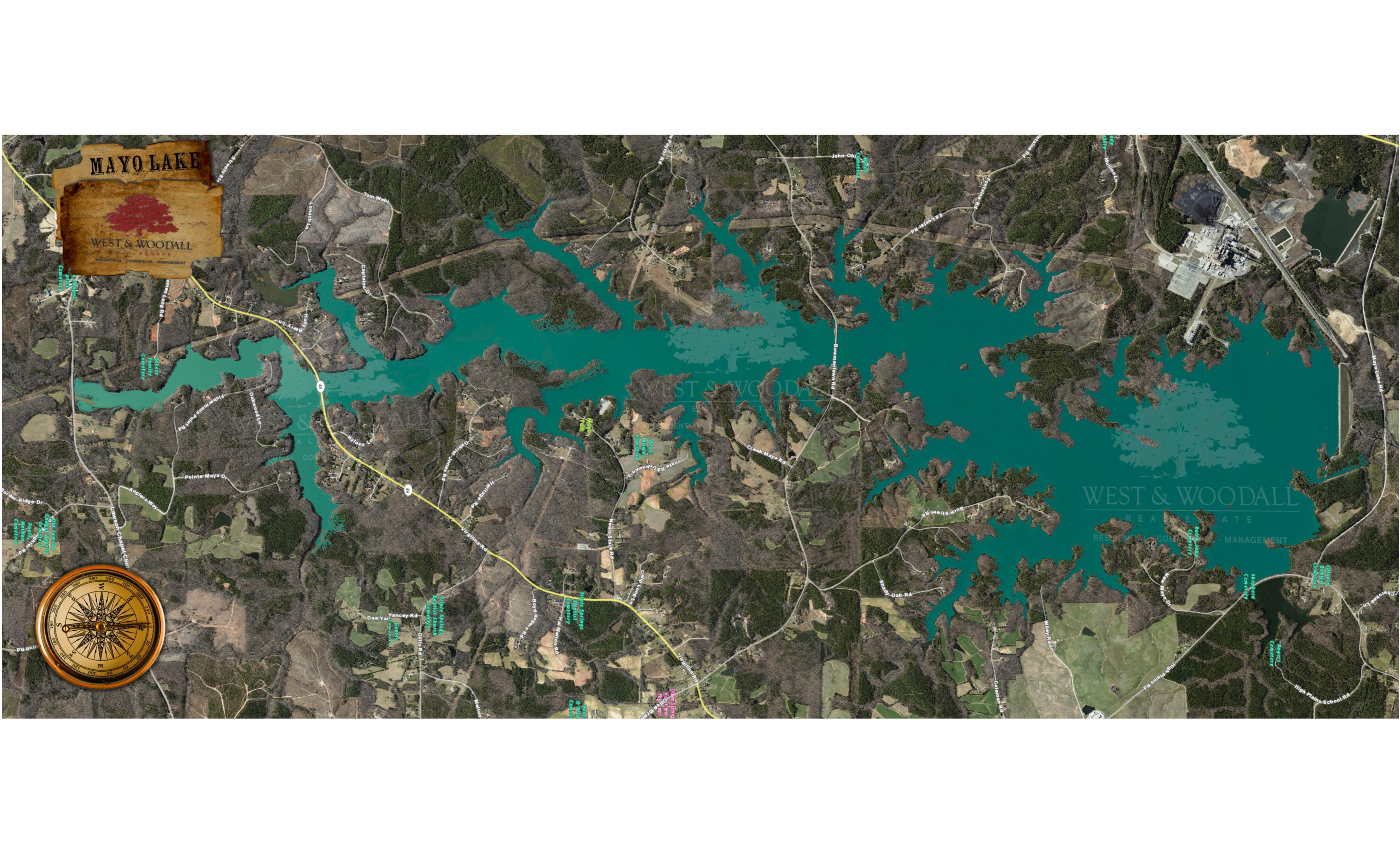 Mayo Lake (Courtesy of West and Woodall)